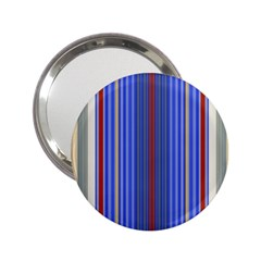 Colorful Stripes Background 2 25  Handbag Mirrors by Amaryn4rt