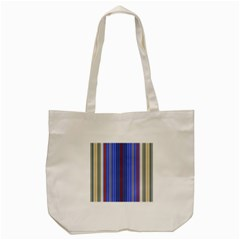 Colorful Stripes Background Tote Bag (cream)
