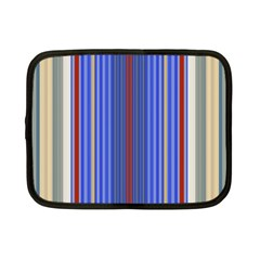 Colorful Stripes Background Netbook Case (small)  by Amaryn4rt