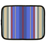 Colorful Stripes Background Netbook Case (Large) Front