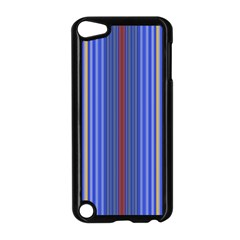 Colorful Stripes Background Apple Ipod Touch 5 Case (black) by Amaryn4rt