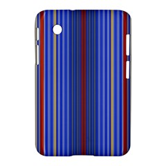 Colorful Stripes Background Samsung Galaxy Tab 2 (7 ) P3100 Hardshell Case  by Amaryn4rt