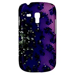 Blue Digital Fractal Galaxy S3 Mini by Amaryn4rt