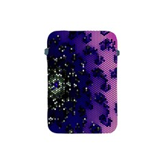 Blue Digital Fractal Apple Ipad Mini Protective Soft Cases
