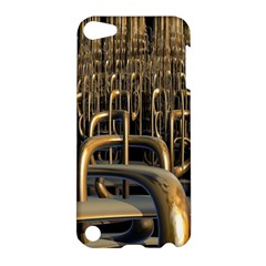 Fractal Image Of Copper Pipes Apple Ipod Touch 5 Hardshell Case by Amaryn4rt
