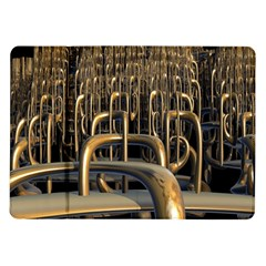 Fractal Image Of Copper Pipes Samsung Galaxy Tab 10 1  P7500 Flip Case by Amaryn4rt