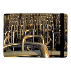 Fractal Image Of Copper Pipes Samsung Galaxy Tab Pro 10 1  Flip Case by Amaryn4rt