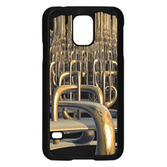 Fractal Image Of Copper Pipes Samsung Galaxy S5 Case (black) by Amaryn4rt