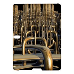 Fractal Image Of Copper Pipes Samsung Galaxy Tab S (10 5 ) Hardshell Case  by Amaryn4rt