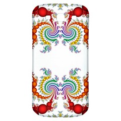 Fractal Kaleidoscope Of A Dragon Head Samsung Galaxy S3 S Iii Classic Hardshell Back Case by Amaryn4rt