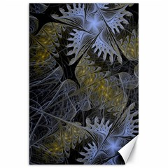 Fractal Wallpaper With Blue Flowers Canvas 20  x 30