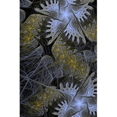 Fractal Wallpaper With Blue Flowers 5.5  x 8.5  Notebooks