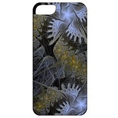 Fractal Wallpaper With Blue Flowers Apple iPhone 5 Classic Hardshell Case