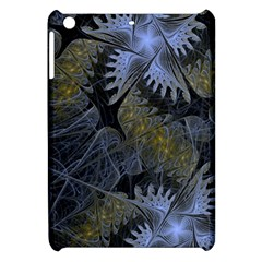 Fractal Wallpaper With Blue Flowers Apple iPad Mini Hardshell Case
