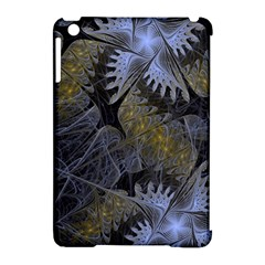 Fractal Wallpaper With Blue Flowers Apple iPad Mini Hardshell Case (Compatible with Smart Cover)