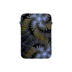 Fractal Wallpaper With Blue Flowers Apple iPad Mini Protective Soft Cases
