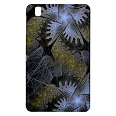Fractal Wallpaper With Blue Flowers Samsung Galaxy Tab Pro 8.4 Hardshell Case