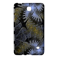 Fractal Wallpaper With Blue Flowers Samsung Galaxy Tab 4 (7 ) Hardshell Case