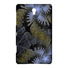 Fractal Wallpaper With Blue Flowers Samsung Galaxy Tab S (8.4 ) Hardshell Case