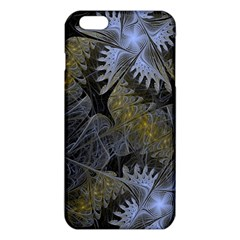 Fractal Wallpaper With Blue Flowers iPhone 6 Plus/6S Plus TPU Case