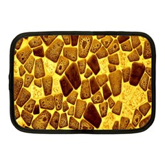Yellow Cast Background Netbook Case (medium)  by Amaryn4rt