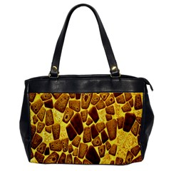 Yellow Cast Background Office Handbags by Amaryn4rt