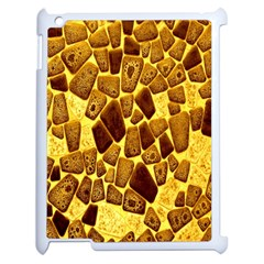 Yellow Cast Background Apple Ipad 2 Case (white) by Amaryn4rt
