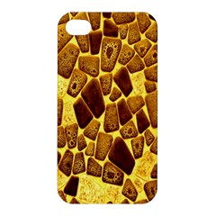 Yellow Cast Background Apple Iphone 4/4s Hardshell Case by Amaryn4rt