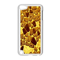 Yellow Cast Background Apple Ipod Touch 5 Case (white) by Amaryn4rt
