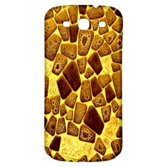 Yellow Cast Background Samsung Galaxy S3 S Iii Classic Hardshell Back Case by Amaryn4rt