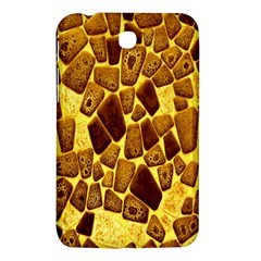 Yellow Cast Background Samsung Galaxy Tab 3 (7 ) P3200 Hardshell Case  by Amaryn4rt