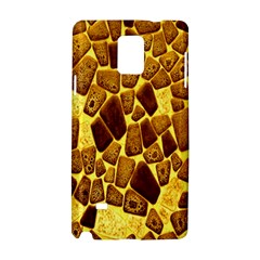 Yellow Cast Background Samsung Galaxy Note 4 Hardshell Case by Amaryn4rt