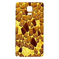 Yellow Cast Background Galaxy Note 4 Back Case by Amaryn4rt