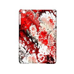 Red Fractal Art Ipad Mini 2 Hardshell Cases by Amaryn4rt