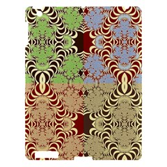 Multicolor Fractal Background Apple Ipad 3/4 Hardshell Case by Amaryn4rt