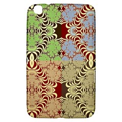 Multicolor Fractal Background Samsung Galaxy Tab 3 (8 ) T3100 Hardshell Case  by Amaryn4rt