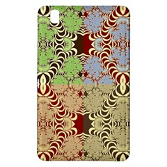 Multicolor Fractal Background Samsung Galaxy Tab Pro 8 4 Hardshell Case by Amaryn4rt