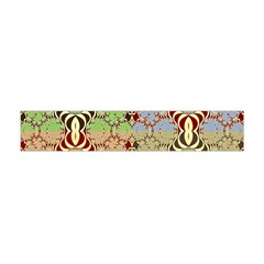 Multicolor Fractal Background Flano Scarf (mini) by Amaryn4rt