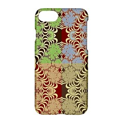 Multicolor Fractal Background Apple Iphone 7 Hardshell Case by Amaryn4rt