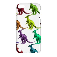 Multicolor Dinosaur Background Apple Ipod Touch 5 Hardshell Case by Amaryn4rt