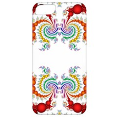 Fractal Kaleidoscope Of A Dragon Head Apple Iphone 5 Classic Hardshell Case by Amaryn4rt