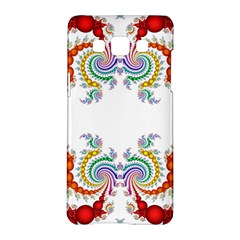 Fractal Kaleidoscope Of A Dragon Head Samsung Galaxy A5 Hardshell Case  by Amaryn4rt