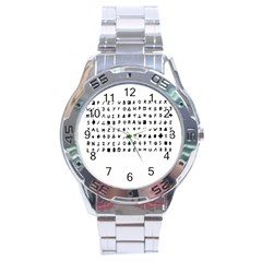 Zodiac Killer  Stainless Steel Analogue Watch by Valentinaart