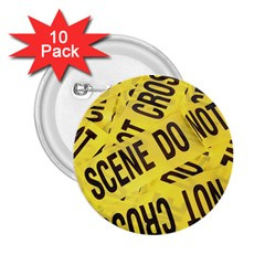 Crime Scene 2 25  Buttons (10 Pack)