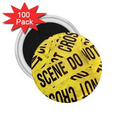 Crime Scene 2 25  Magnets (100 Pack)  by Valentinaart