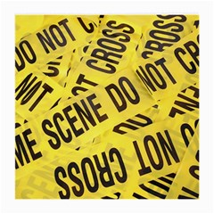 Crime Scene Medium Glasses Cloth (2-side) by Valentinaart