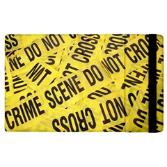 Crime Scene Apple Ipad 3/4 Flip Case