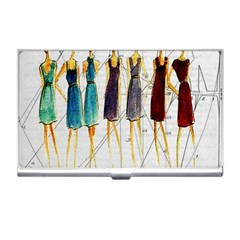 Fashion Sketch  Business Card Holders by Valentinaart