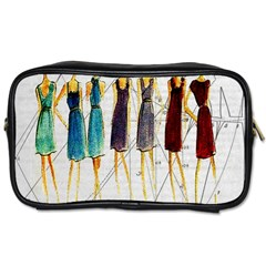 Fashion Sketch  Toiletries Bags 2 Side by Valentinaart