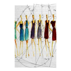 Fashion Sketch  Shower Curtain 48  X 72  (small)  by Valentinaart